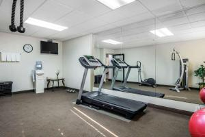 The fitness center and/or fitness facilities at Sleep Inn near The Avenue