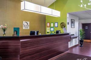 The lobby or reception area at Sleep Inn near The Avenue