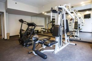 The fitness center and/or fitness facilities at Sleep Inn Atlanta Airport