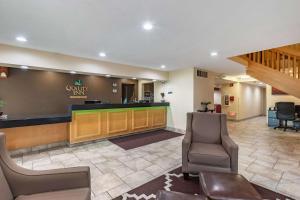 The lobby or reception area at Quality Inn Newton