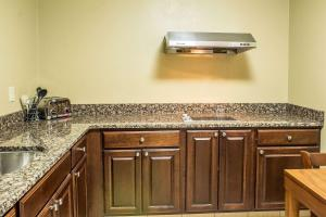 A kitchen or kitchenette at Comfort Inn & Suites Cedar Rapids North - Collins Road
