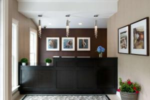 The lobby or reception area at Port Inn & Suites Kennebunk, Ascend Hotel Collection