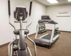 The fitness center and/or fitness facilities at Sleep Inn & Suites Lake of the Ozarks