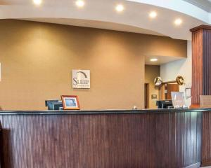 The lobby or reception area at Sleep Inn & Suites Lake of the Ozarks