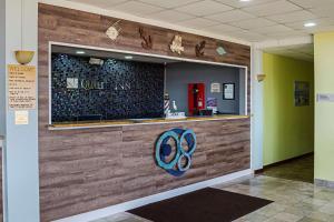 The lobby or reception area at Quality Inn Biloxi Beach