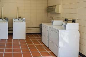 A kitchen or kitchenette at Quality Inn Biloxi Beach