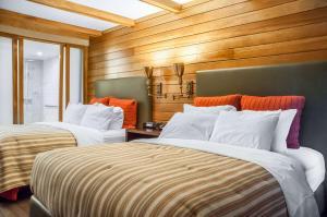 Cama o camas de una habitación en Comfort Inn The Pointe