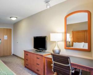 A television and/or entertainment center at Comfort Inn & Suites West Chester - North Cincinnati