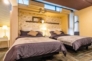 ル・クロ ビジュースイーツにあるベッド
