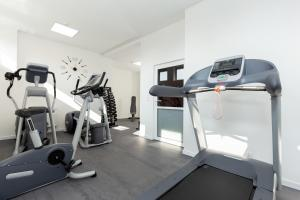 The fitness center and/or fitness facilities at Hotel Gryf