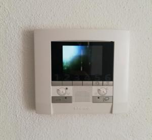A television and/or entertainment center at Via Sardegna 89