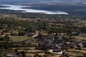 El Encanto del Valle del Lozoya a vista de pájaro