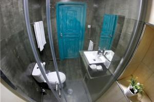 Uma casa de banho em My Hostel