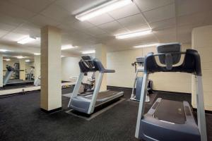 The fitness center and/or fitness facilities at Travelodge by Wyndham Livonia