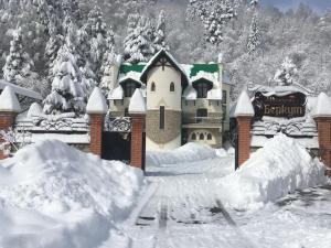 Отель Беркут зимой