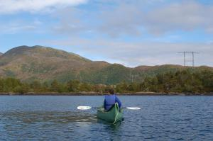 Canoeing at the lodge or nearby