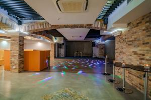 The lobby or reception area at Hotel Paryski Art & Business