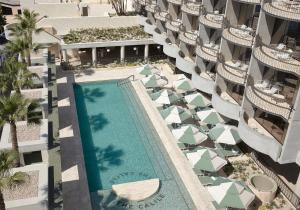A view of the pool at The Calile Hotel or nearby
