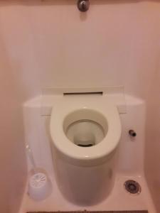 Salle de bains dans l'établissement hotelF1 Vesoul