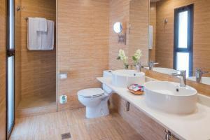 Een badkamer bij Sumus Hotel Stella & Spa 4*Superior