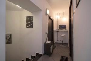 A bathroom at Il Taschino Suite