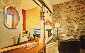 The lobby or reception area at Posada Boutique Las Terrazas