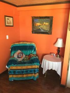 A bed or beds in a room at KMJ Casita Rentals