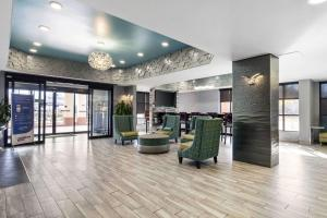 The lobby or reception area at Quality Inn & Suites Montgomery East Carmichael Rd