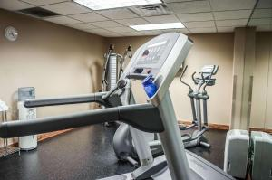 The fitness center and/or fitness facilities at Comfort Inn & Suites Mobile near Eastern Shore Centre
