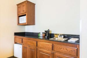 A kitchen or kitchenette at Quality Inn and Suites Alma