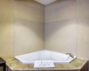 A bathroom at Comfort Suites Conway