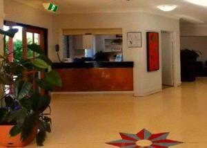 The lobby or reception area at Comfort Inn Parklands Calliope