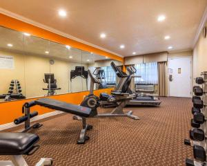 The fitness center and/or fitness facilities at Quality Inn Blythe I-10