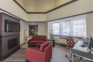 Гостиная зона в Comfort Inn Corner Brook