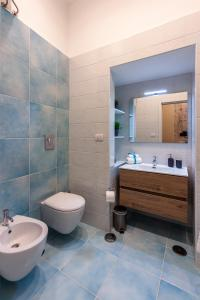 A bathroom at Mythos Holidays