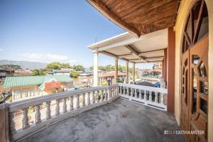 Un balcón o terraza de Gypsy Inn