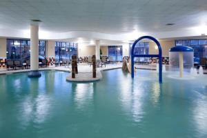 The swimming pool at or near Hampton Inn & Suites Oklahoma City-Bricktown