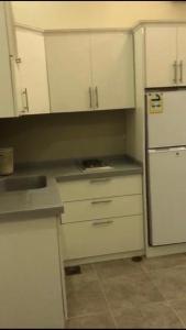 A cozinha ou cozinha compacta de Chalet Laura in Yanbu