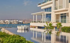 The swimming pool at or near Hyatt Regency Aqaba Ayla Resort