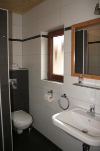 A bathroom at Hotel Michaela