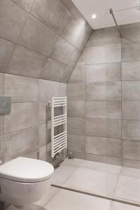 A bathroom at Hotel Restaurant Boschlust