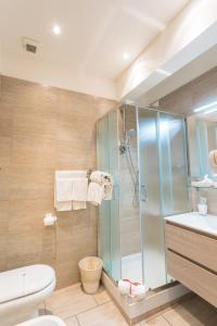 Bagno di BQ House Milizie Luxury Rooms