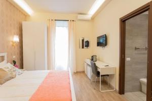 Letto o letti in una camera di BQ House Milizie Luxury Rooms