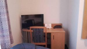 TV/Unterhaltungsangebot in der Unterkunft Hotel Goldenes Schiff