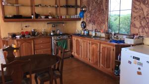 A kitchen or kitchenette at Welcoming vibes