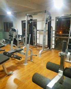 Gimnasio o equipamiento deportivo en Hotel Los Angeles