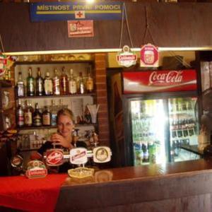Лаундж или бар в Pension Sparta