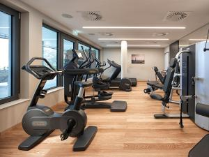 The fitness center and/or fitness facilities at Panoramahotel Waldenburg