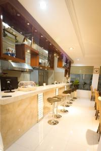 The lobby or reception area at Hotel Salam Asri