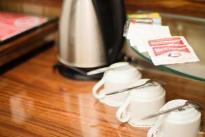 Coffee and tea making facilities at Hotel Salam Asri